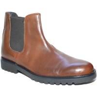 Scarpe Uomo Stivali Made In Italia Scarpe uomo beatles vero pelle cuoio art:B2345 anticato fondo r CUOIO
