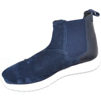 Scarpe Uomo Stivali Malu Shoes Scarpe uomo beatles art:0164 made in italy pelle nero scamoscia BLU