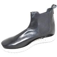 Scarpe Uomo Stivali Malu Shoes Scarpe uomo beatles art:0164 made in italy pelle nero nappa fond NERO