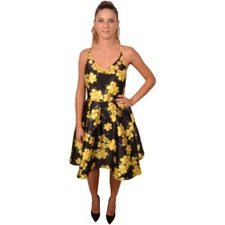 Abbigliamento Donna Vestiti Allure Black Woman Yellow Flower Print Dress<BR/>203600 &nbsp;<BR/> Altri