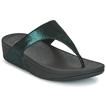 Scarpe Donna Infradito FitFlop SHIMMY SUEDE TOE-POST Verde