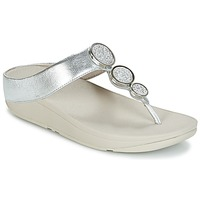 Scarpe Donna Infradito FitFlop HALO TOE THONG SANDALS Argento