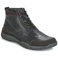 Scarpe Uomo Sneakers alte Josef Seibel PHIL 03 Nero