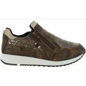 Scarpe Bambina Sneakers basse Lois Jeans 83851 Marrón