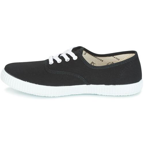 Sneakers 2320 Consegna Lona Gratuita Inglesa Nero Basse Victoria Scarpe TK1cFul3J