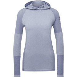 Abbigliamento Donna Felpe in pile adidas Performance Maglia Climaheat Primeknit Hooded grey