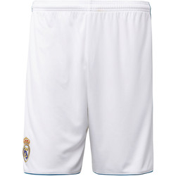 Abbigliamento Uomo Shorts / Bermuda adidas Performance Short Home Real Madrid Bianca / Verde