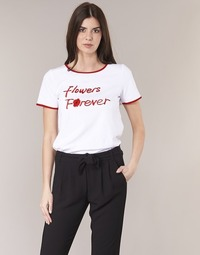 Abbigliamento Donna T-shirt maniche corte Betty London INNATIMBI Bianco / Rosso