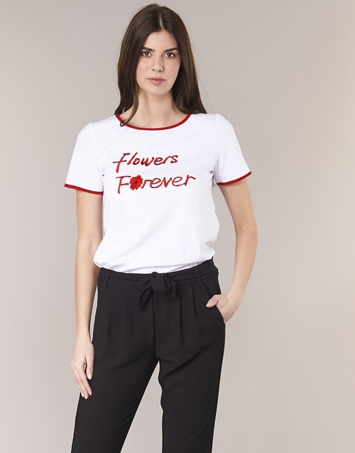 Corte Betty BiancoRosso T shirt Maniche London Innatimbi 4jL3Rq5A