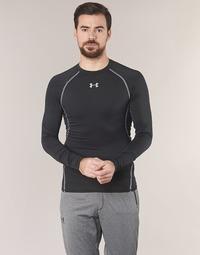 Abbigliamento Uomo T-shirts a maniche lunghe Under Armour LS COMPRESSION Nero