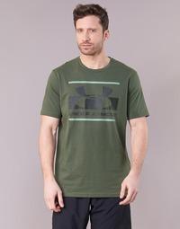 Abbigliamento Uomo T-shirt maniche corte Under Armour BLOCKED SPORTSTYLE LOGO Kaki