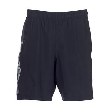 Abbigliamento Uomo Shorts / Bermuda Under Armour WOVEN GRAPHIC WORDMARK SHORT Nero