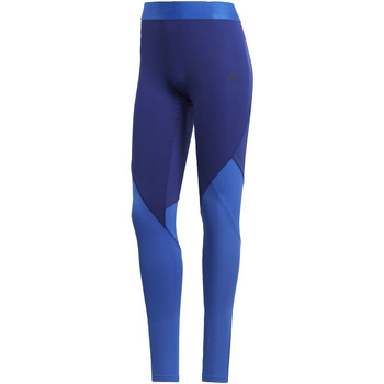 Abbigliamento Donna Leggings adidas Performance Tight Climacool Logo Blu