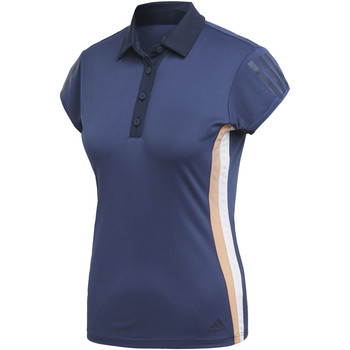 Abbigliamento Donna Polo maniche corte adidas Performance Polo 3-Stripes Club blue