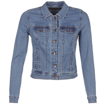 Abbigliamento Donna Giacche in jeans Vero Moda VMHOT SOYA Blu / Medium