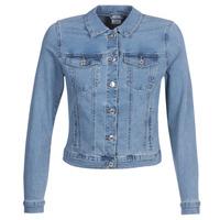 Abbigliamento Donna Giacche in jeans Vero Moda VMHOT SOYA Blu / Clair