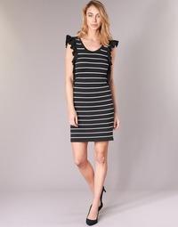 Abbigliamento Donna Abiti corti Vero Moda VMABHY Nero / Bianco