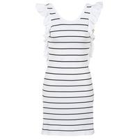 Abbigliamento Donna Abiti corti Vero Moda VMABHY Bianco / Nero