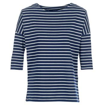 Abbigliamento Donna Felpe Vero Moda VMULA Marine / Bianco