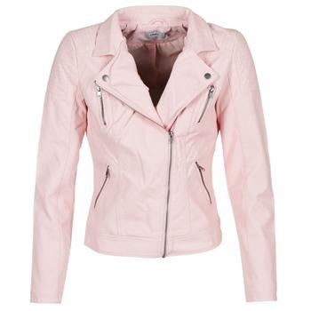 Abbigliamento Donna Giacca in cuoio / simil cuoio Only STEADY Rosa