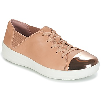 Scarpe Donna Sneakers basse FitFlop F-SPORTY MIRROR-TOE SNEAKERS Nude