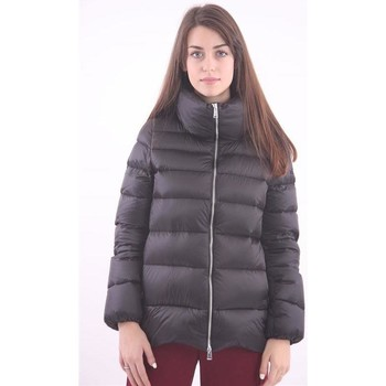 Abbigliamento Donna Piumini Add PIUMINO CORTO FULL ZIP NERO Black
