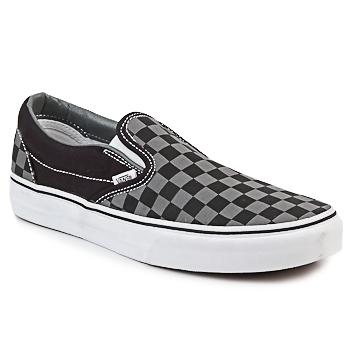 Scarpe Slip on Vans CLASSIC SLIP-ON Nero / Grigio
