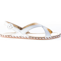 Scarpe Donna Sandali Car Shoe Donna sandalo basso in vernice BIANCO bianco