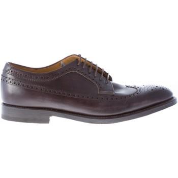 Scarpe Uomo Richelieu Migliore uomo scarpa derby brogue in pelle TESTA DI MORO marrone