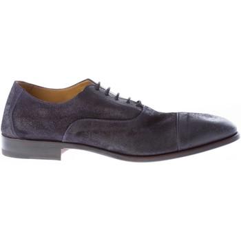 Scarpe Uomo Richelieu Migliore uomo scarpa francesina in camoscio anticato BLU blu