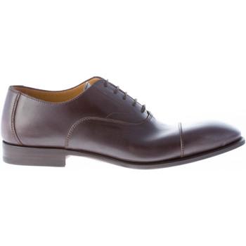 Scarpe Uomo Richelieu Migliore uomo scarpa francesina in pelle TESTA DI MORO marrone