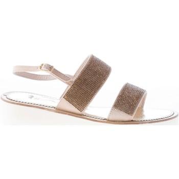 Scarpe Donna Sandali Mastrodomenico donna sandalo in camoscio CARNE beige