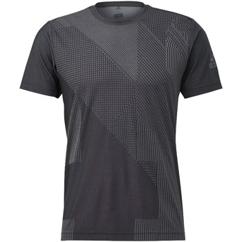 Abbigliamento Uomo T-shirt maniche corte adidas Performance T-shirt FreeLift Engineered Jacquard Grigio