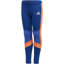 Abbigliamento Bambina Leggings adidas Performance Tight Training Blu / Arancia