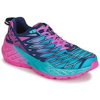 Scarpe Donna Running / Trail Hoka one one W CLAYTON 2 Blu / Rosa