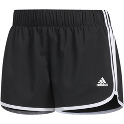 Abbigliamento Donna Shorts / Bermuda adidas Performance Short M10 Icon Nero / Bianca