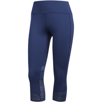 Abbigliamento Donna Leggings adidas Performance Tight 3/4 How We Do blue