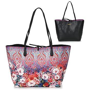 Borse Donna Tote bag / Borsa shopping Desigual BOLS_CAPRI FREYA Rosa / Multicolore