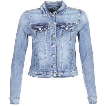 Abbigliamento Donna Giacche in jeans Vila VISHOW Blu / Medium