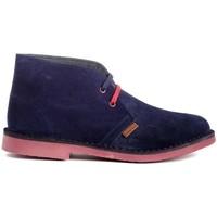 Scarpe Uomo Stivaletti Colour Feet MOGAMBO Blu