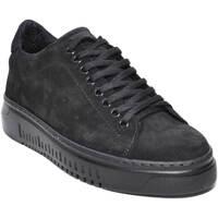 Scarpe Uomo Sneakers basse Malu Shoes Scarpe uomo art 1001 pelle scamosciata nero fondo antiscivolo co NERO