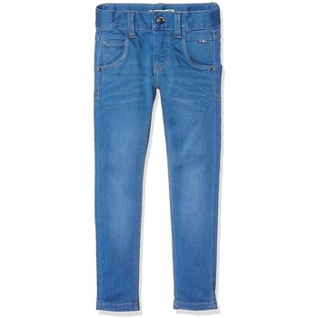 Abbigliamento Bambino Jeans Name It Kids NITCLAS DNM MEDIUM BLUE Blue