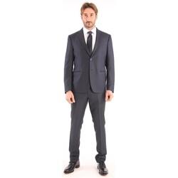 Abbigliamento Uomo Giacche Bagnoli Sartoria Napoli ABITO BLU IN LANA Blue