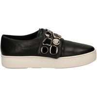 Scarpe Donna Slip on What For AUGUSTE Nero