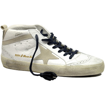 Scarpe Donna Sneakers alte Golden Goose Sneakers Mid Star Bianco