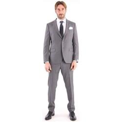 Abbigliamento Uomo Giacche Cantarelli ABITO GRIGIO IN LANA VERGINE Grey