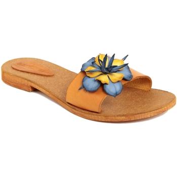 Scarpe Donna Ciabatte Summery  Giallo