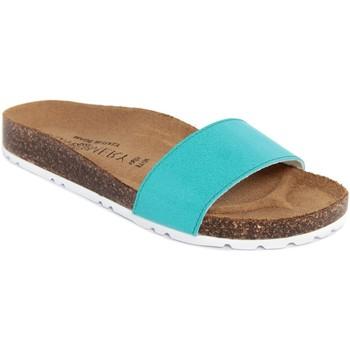 Scarpe Donna Ciabatte Summery  Blu