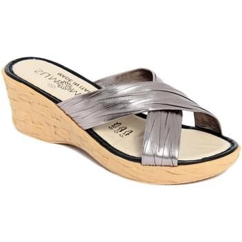 Scarpe Donna Ciabatte Summery  Grigio