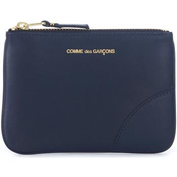 Borse Portafogli Comme Des Garcons Bustina  in pelle blu Blu